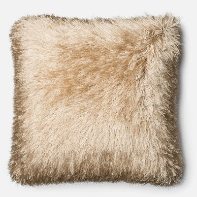 Leonce Throw Pillow Color: Gold