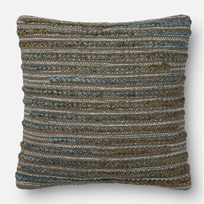 Miso Pillow Cover Size: 18 H x 18 W x 0.25 D, Color: Steel