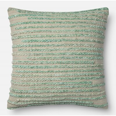 Jerald Pillow Cover Size: 22 H x 22 W x 0.25 D, Color: Silver Sage