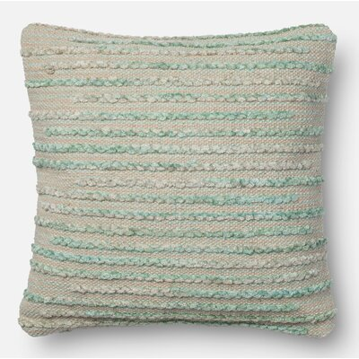 Miso Throw Pillow Size: 22 H x 22 W x 6 D, Color: Silver Sage