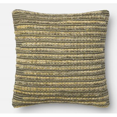 Miso Throw Pillow Size: 18 H x 18 W x 6 D, Color: Wasabi