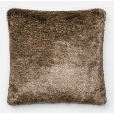 Lechner Throw Pillow Color: Light Brown