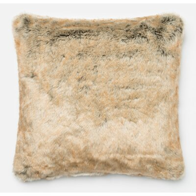 Lechner Throw Pillow Color: Beige