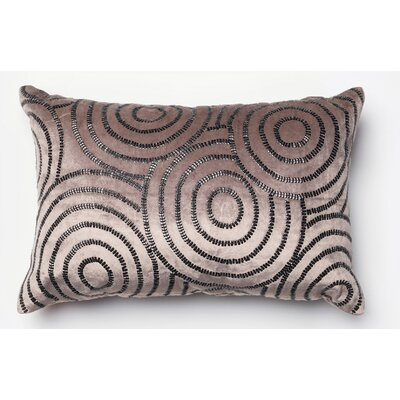 Norridge Pillow Cover Color: Chorcoal/Black
