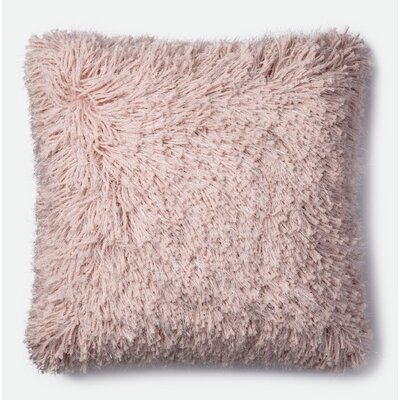 Throw Pillow Color: Pink