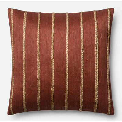 Pillow Cover Color: Rust/Steel