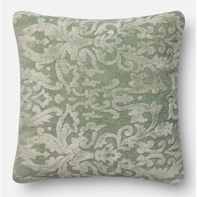Throw Pillow Size: 22 H x 22 W x 6 D, Color: Silver Sage