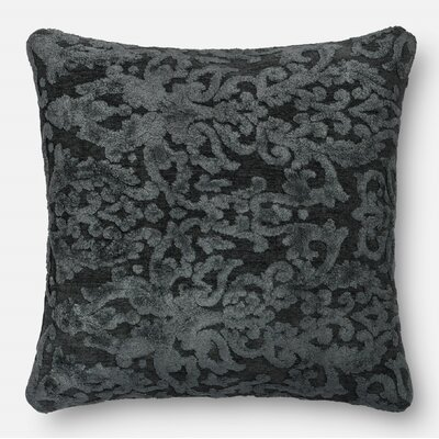 Throw Pillow Size: 22 H x 22 W x 6 D, Color: Metal
