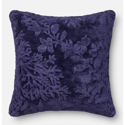 Throw Pillow Color: Blue/Berry