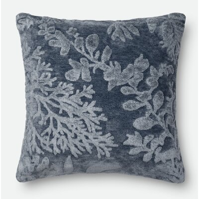 Throw Pillow Color: Denim