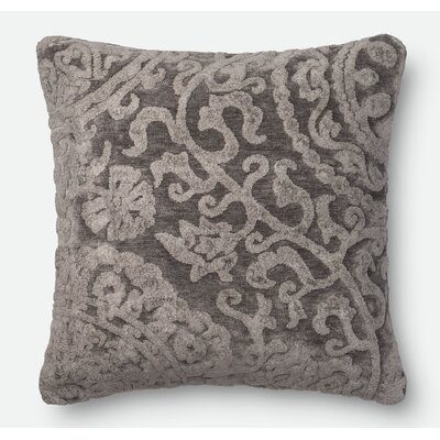 Throw Pillow Color: Ash