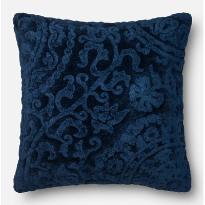 Throw Pillow Color: Indigo