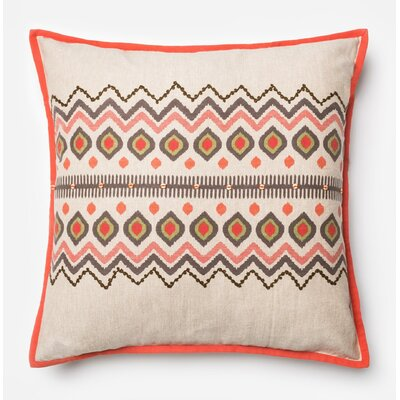 Woodall Cotton Throw Pillow