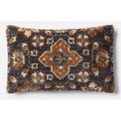 Lumbar Pillow Color: Brown/Multi