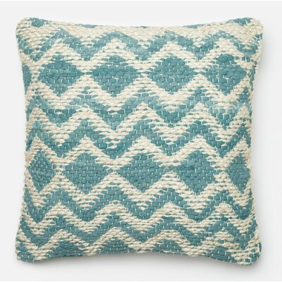 Pillow Cover Color: Blue/Gray