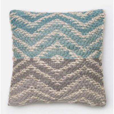 Throw Pillow Color: Blue/Gray