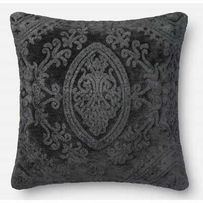 Leday Throw Pillow Color: Smoke