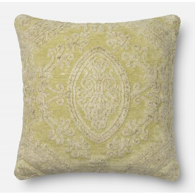 Leday Throw Pillow Color: Pistachio