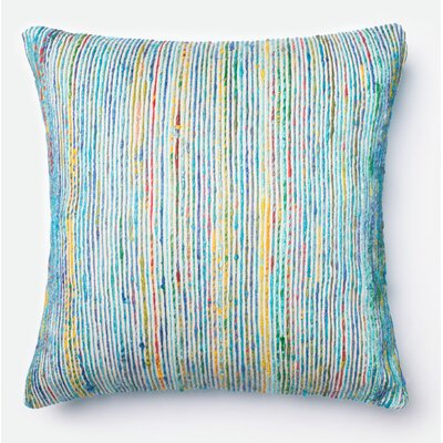 Throw Pillow Color: Blue/Multi