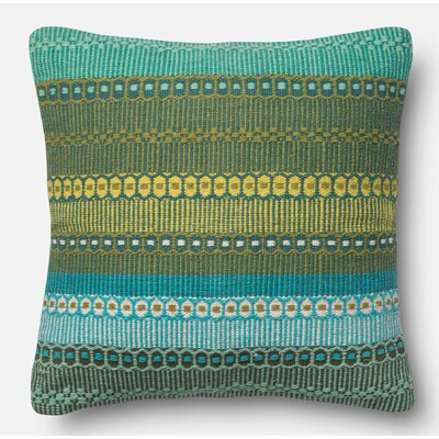 Throw Pillow Size: 22 H x 22 W x 6 D, Color: Ombre Melbourne