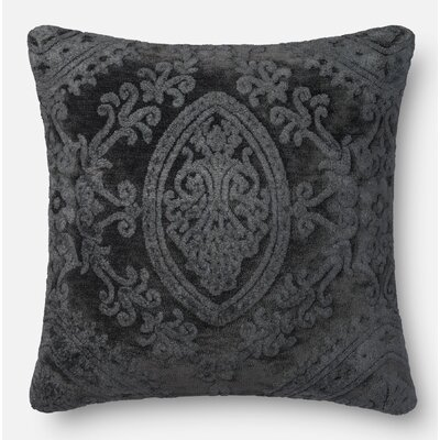 Lederer Pillow Cover Color: Smoke