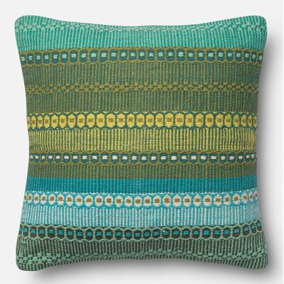 Throw Pillow Color: Dhaba, Size: 22 H x 22 W x 6 D