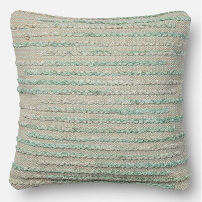 Miso Throw Pillow Size: 18 H x 18 W x 6 D, Color: Silver Sage
