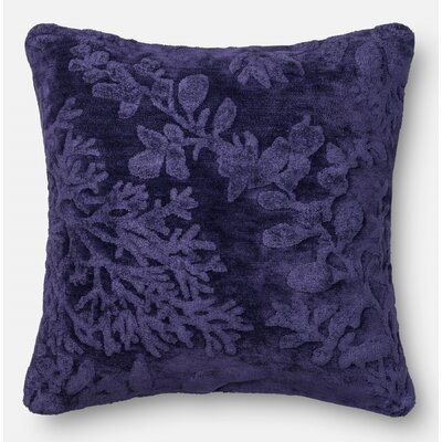 Pillow Cover Color: Blue/Berry