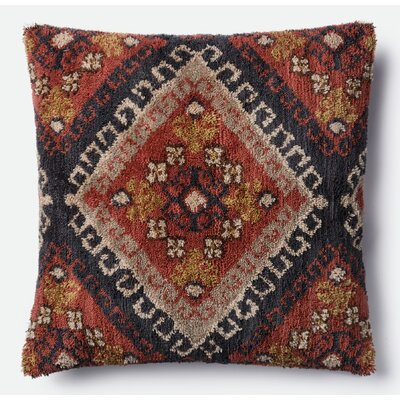 Throw Pillow Color: Black/Orange