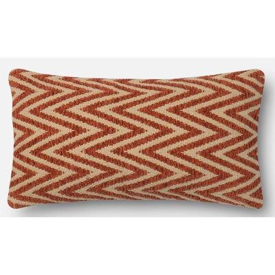 Lumbar Pillow Color: Tomato