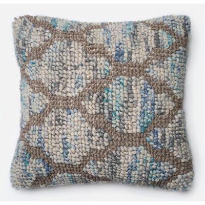 Textured Trellis Croft Pillow Cover