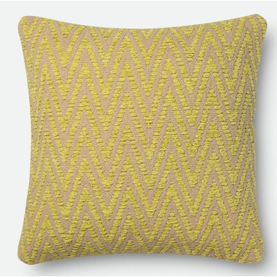 Throw Pillow Size: 18 H x 18 W x 6 D, Color: Avocado