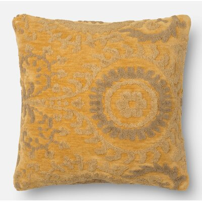 Yarborough Pillow Cover Size: 18 H x 18 W x 0.25 D, Color: Buttah