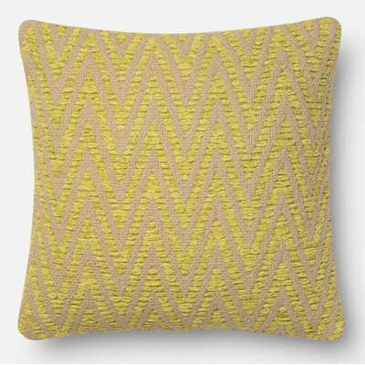 Throw Pillow Color: Avocado, Size: 22 H x 22 W x 6 D