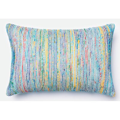 Tuttle Lumbar Pillow Color: Blue/Multi