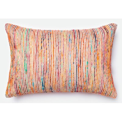 Tuttle Lumbar Pillow Color: Rust/Multi