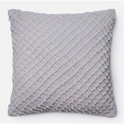 Guarascio 100% Cotton Pillow Cover Color: Gray