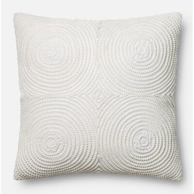 Throw Pillow Color: White