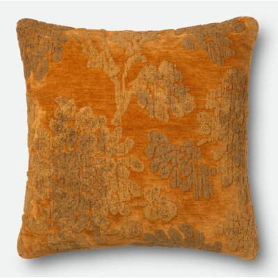 Pillow Cover Size: 18 H x 18 W x 0.25 D, Color: Aura