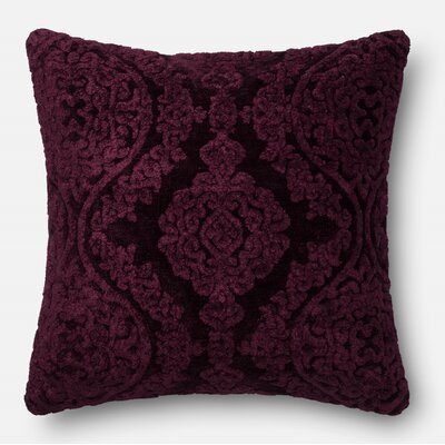 Ledet Pillow Cover Color: Eggplant