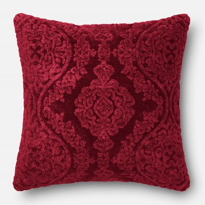 Ledet Pillow Cover Color: Wine