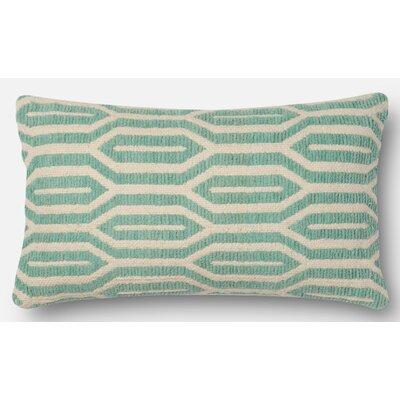 Lumbar Pillow Color: Aqua