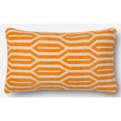Lumbar Pillow Color: Orange