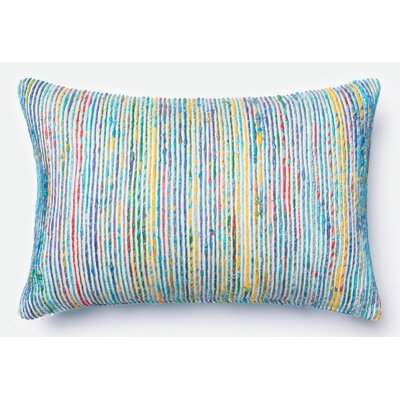 Hippocrates Pillow Cover Color: Blue/Multi