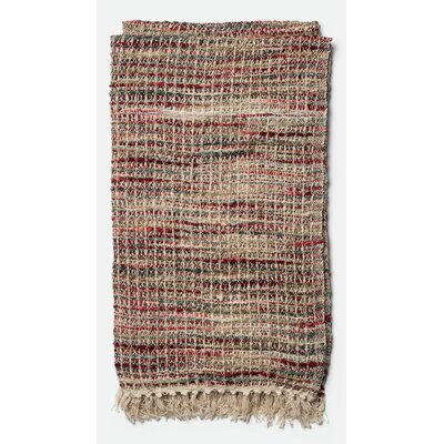 Nora Throw Color: Red/Multi