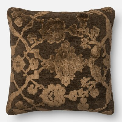Throw Pillow Size: 18 H x 18 W x 6 D, Color: Dark Taupe