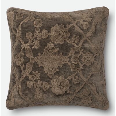 Pillow Cover Size: 22 H x 22 W x 0.25 D, Color: Storm