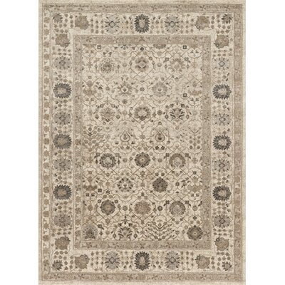 Adelbert Sand Area Rug Rug Size: Rectangle 37 x 57