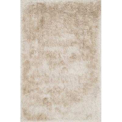 Siipola Shag Hand-Tufted Beige Area Rug Rug Size: Rectangle 93 x 13