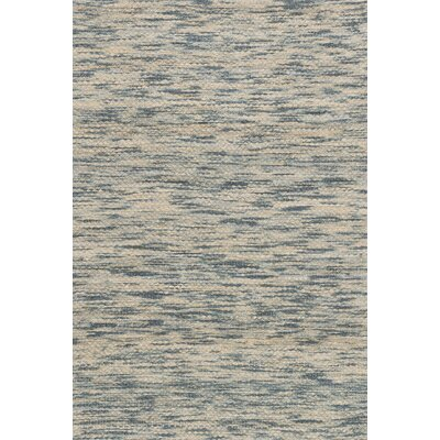 Turcios Hand-Woven Blue/Beige Area Rug Rug Size: Rectangle 5 x 76